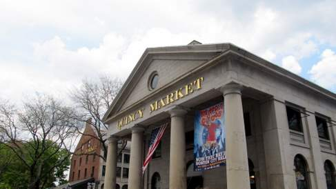 Inside of Quincy Market