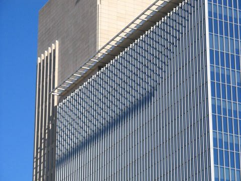 Federal Reserve Bank of Dallas close up